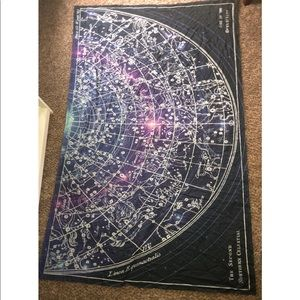 Urban Outfitters Constellation Tapestry